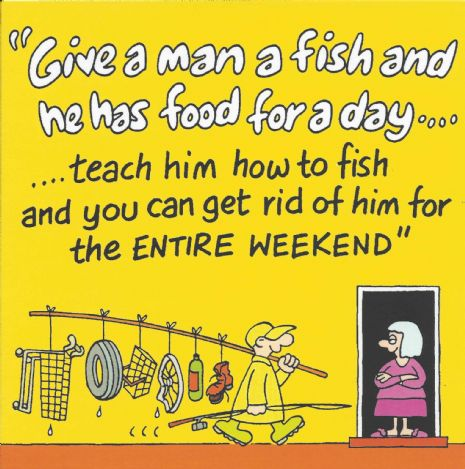 Fishing Funny card, funny birthday card, funny card for men